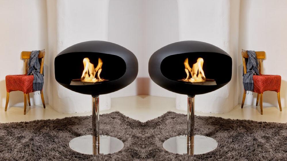 Cocoon Fires TERRA Pedestal Bio Ethanol Kamin   Stand Kamin: Die Cocoon Bio  Ethanol Kamine Sind Sowohl Im Innen  Als Auch Im Außenbereich Eine  Stilvolle ...