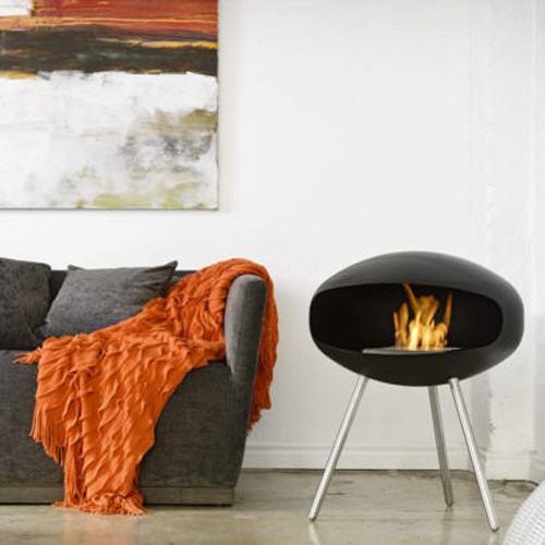 Amazing Cocoon Fires TERRA Standing Bio Ethanol Kamin